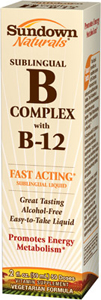 Sublingual B Complex Liquid 2 Liquid