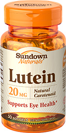 Lutein 20 mg 20 mg  30 Softgels