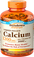 Calcium 1200 plus D Liquid Filled Softgel 170 Softgels