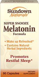 Super Snooze Melatonin Formula 90 Capsules