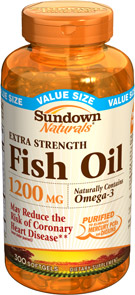 Extra Strength Fish Oil 1200 mg 300 Softgels