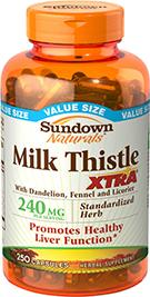 Milk Thistle XTRA® 250 Capsules
