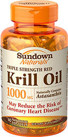 Triple Strength Red Krill Oil 1000 mg 60 Softgels