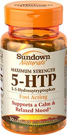 Maximum Strength 5-HTP 200 mg  30 Capsules