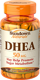 DHEA 50 mg 50 mg  60 Tablets