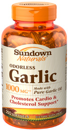 Odorless Garlic 1000 mg 1000 mg  250 Softgels
