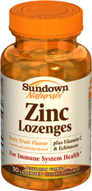 Zinc plus Vitamin C 50 Lozenges