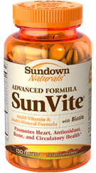 Advanced Formula SunVite® 130 Tablets