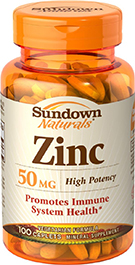 Zinc Gluconate 50 mg 50 mg  100 Caplets
