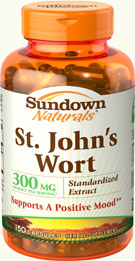 St. John's Wort Standardized Extract 300 mg 300 mg  150 Capsules