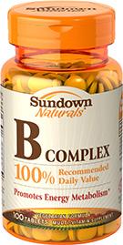 B Complex 100% RDV 100 Tablets