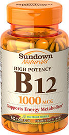 High Potency Vitamin B12 1000 mcg 1000 mcg  60 Tablets