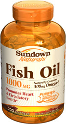 Fish Oil 1000 mg 1000 mg  200 Softgels