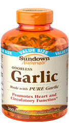 Odorless Garlic 300 Softgels