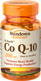 Co Q-10 200 mg  200 mg  30 Softgels