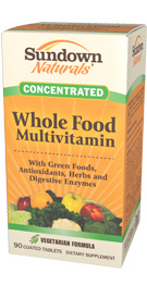 Whole Food Concentrate Multivitamin and Multimineral Formula 90 Tablets