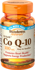 Co Q-10 100 mg 75 Softgels