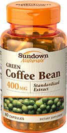 Green Coffee Bean 400 mg 60 Capsules