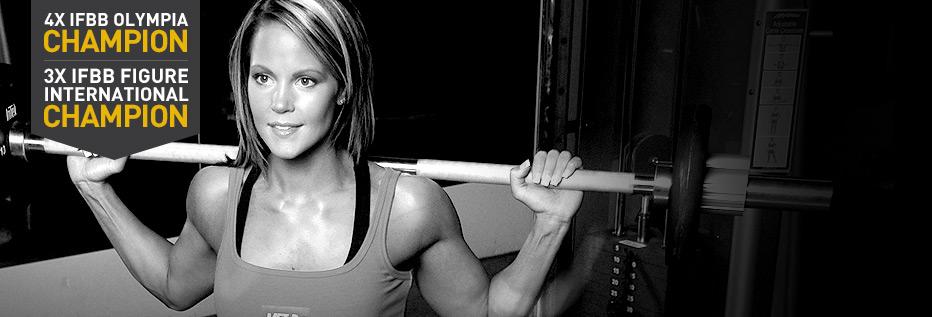 Team MET-Rx: Nicole Wilkins