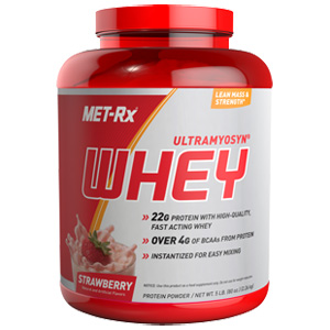 ultramyosyn® whey - strawberry- 5 lb
