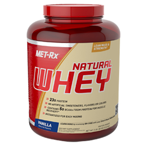 natural whey - vanilla - 5 lb