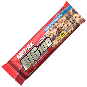 protein bars – big 100 cookie dough meal replacement bar