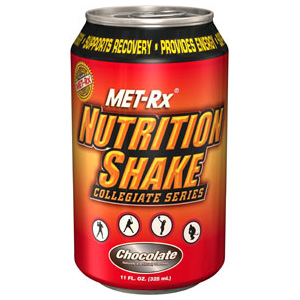 nutrition shake collegiate series - chocolate rtd