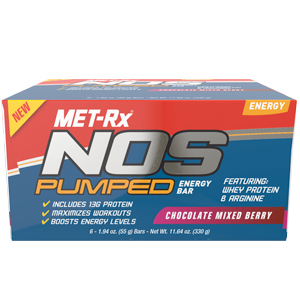 nos pumped - chocolate mixed berry