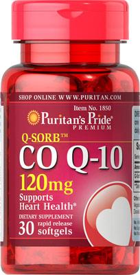 Q-Sorb™ コエンザイムQ10 120 mg.