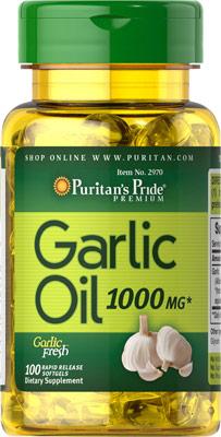 ガーリックオイル 1000 mg.