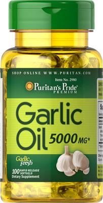 ガーリックオイル 5000 mg.