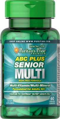 ABCプラス® シニア・マルチビタミン・マルチミネラル配合