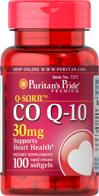 コエンザイムQ10 30 mg.