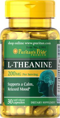 L-テアニン 100 mg.