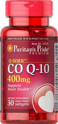 Q-Sorb™ コエンザイムQ10 400 mg.