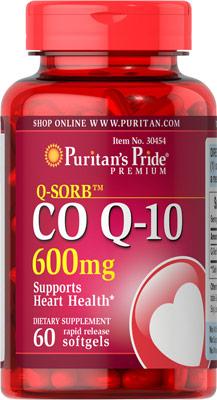 CO Q-10 600 mg
