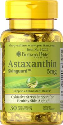 Astaxantina, 5 mg