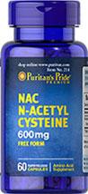 NAC N-Acetyl Cysteine  600 mg  60 Capsules 600 14.99
