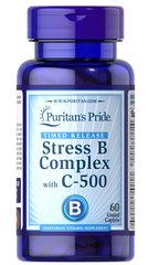 Stress Vitamin B-Complex with Vitamin C-500 Timed Release