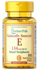 Vitamin E-200 iu Mixed Tocopherols Natural