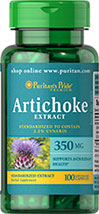 Artichoke Standardized Extract 350 mg