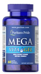 Mega Vita Gel Multi-Vitamin Softgel  60 Softgels N/A 14.99