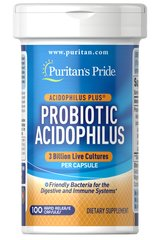 Probiotic Acidophilus with Pectin  100 Capsules 3 14.99