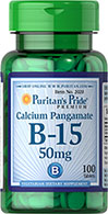 Vitamin B-15 Calcium Pangamate 50 mg