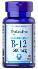 Vitamin B-12 1500 mcg Timed Release