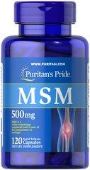 MSM (メチルスルフォニルメタン)500 mg.