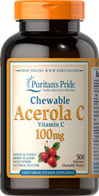 Chewable Acerola C 100 mg