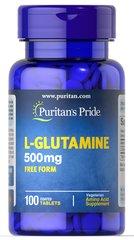 L-グルタミン 500 mg.
