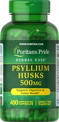 Psyllium Husks 500 mg <p>Psyllium Husks are a source of soluble fiber and a healthy addition to your diet. Our high-quality formula provides 1,000 mg of Psyllium seed husk per serving to support digestive and colon health.**</p>  400 Capsules 500 mg $25.99