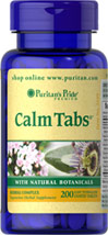Calm Tabs®** with Valerian, Passion Flower, Hops, Chamomile